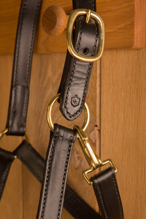 Glaze & Gordon Deluxe Leather Head Collar