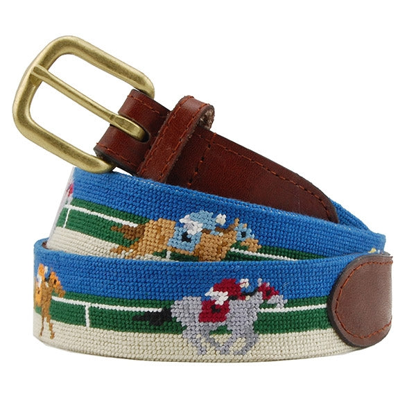 Smathers & Branson Derby Needlepoint Belt