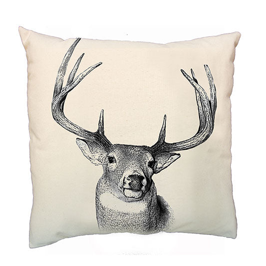 Eric & Christopher Buck Cushion Cover
