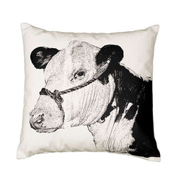 Eric & Christopher Cow Cushion Cover