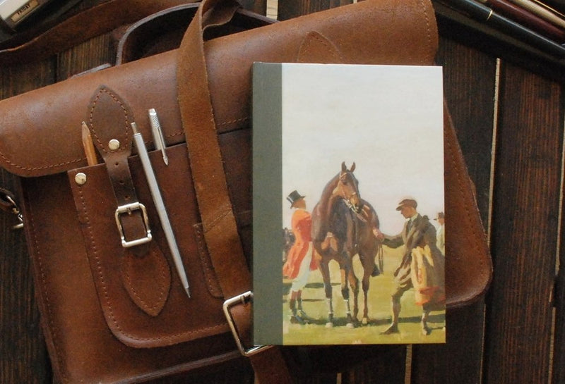 "Munnings ""Point To Point"" A5 Notebook"