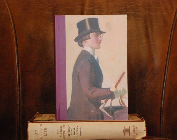 "Munnings ""A Study Of Our Mutual Friend"" A5 Notebook"