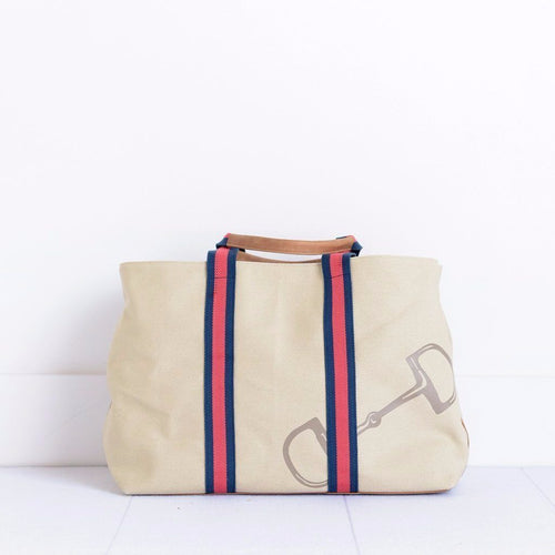Pomegranate Classic Tote Bag – Snaffle & Stripe