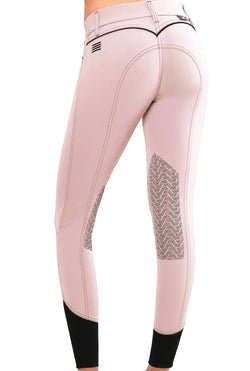 GhoDho Elara Knee Patch Breeches - BLUSH PINK