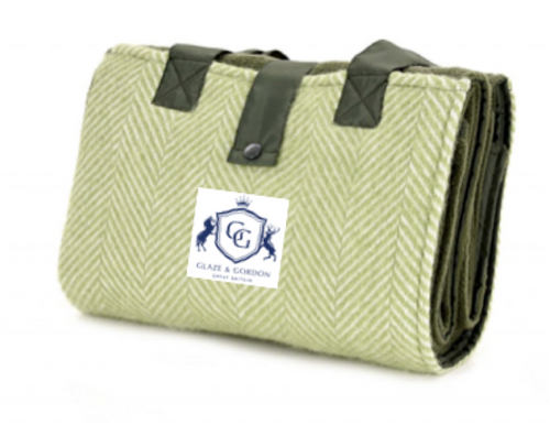 Glaze & Gordon Fishbone Waterproof Picnic Blanket