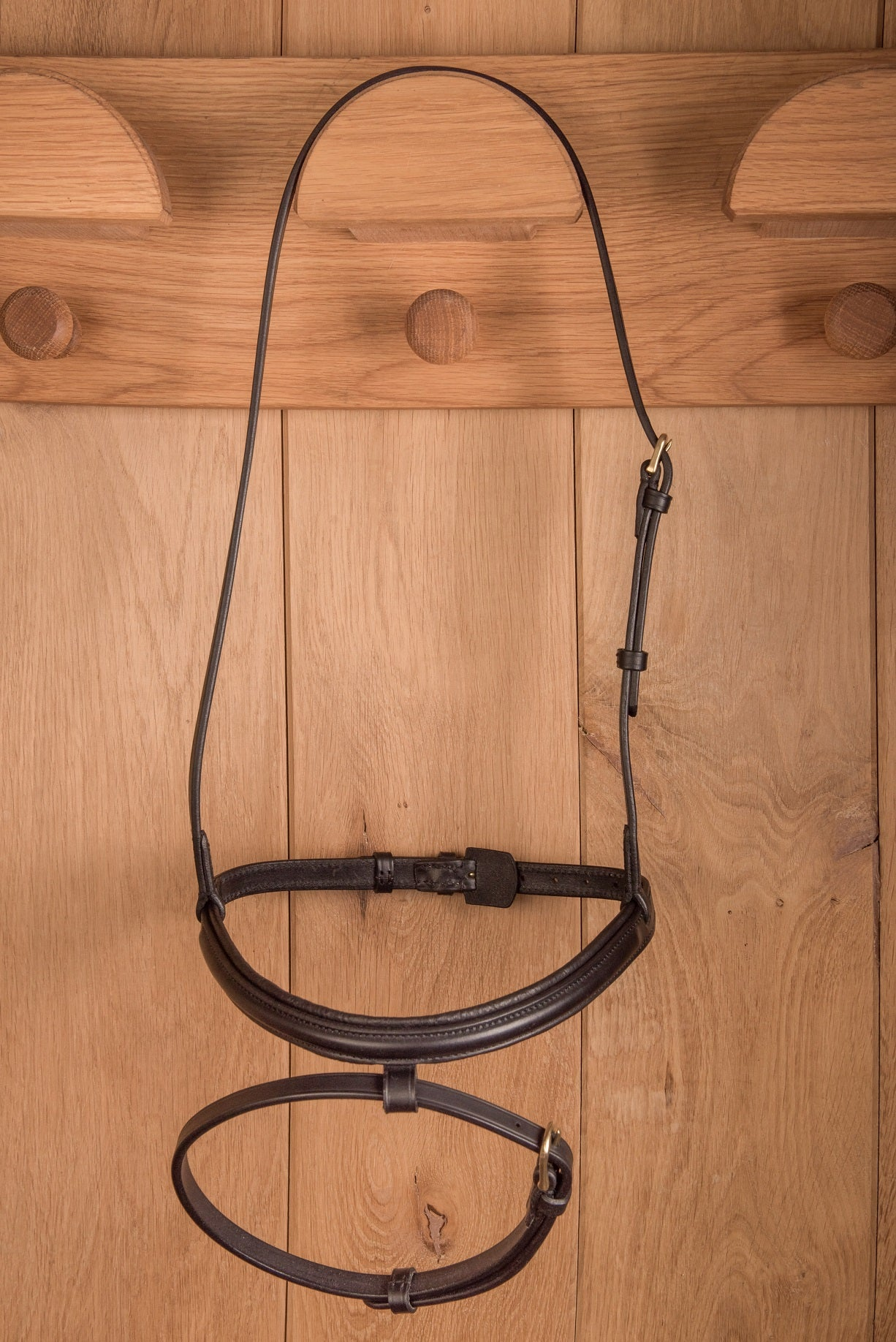 Glaze & Gordon Luxury Raised Cavesson Noseband with Flash