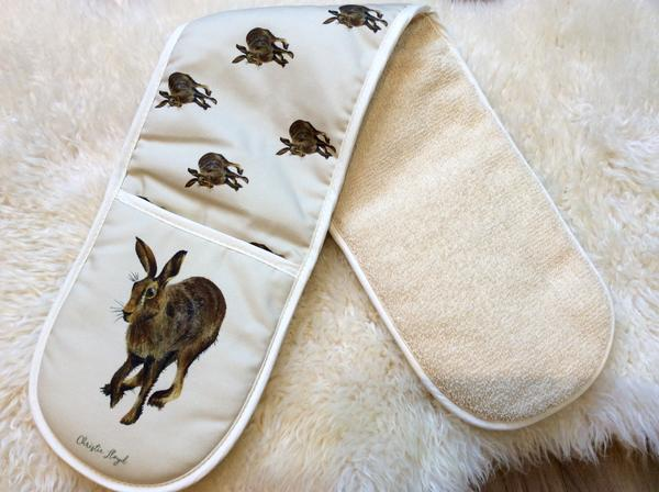 Christie Lloyd Harold Hare Oven Gloves