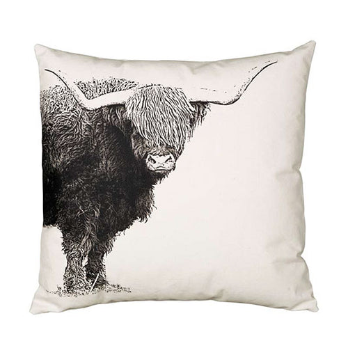 Eric & Christopher Highland Cattle Cushion Cover