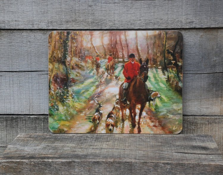 "Munnings ""Hunting Morning"" Serving Mat"