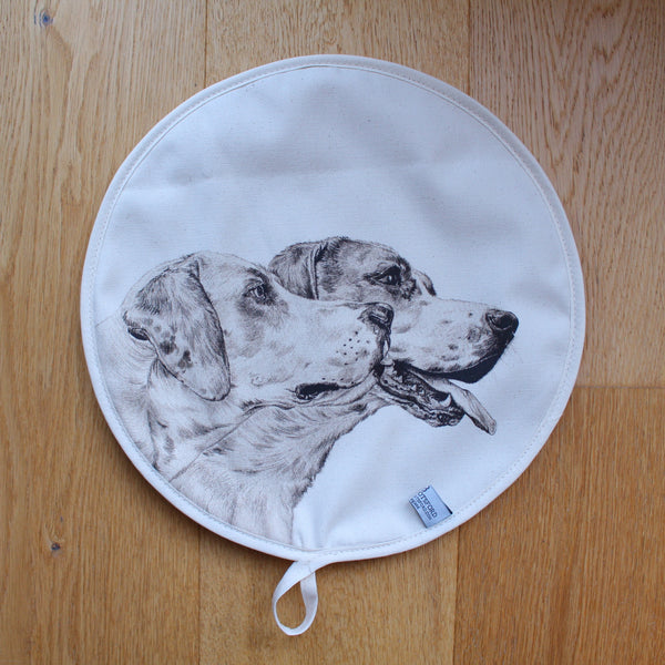 Sophie Botsford Drawn Fox Hounds Aga Top