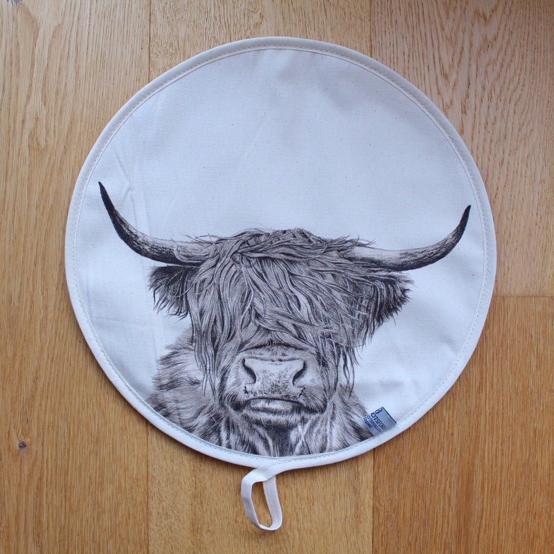 Sophie Botsford Highland Cow Aga Top