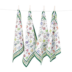 Pomegranate Set of 4 Cloth Napkins – Jockey Silks