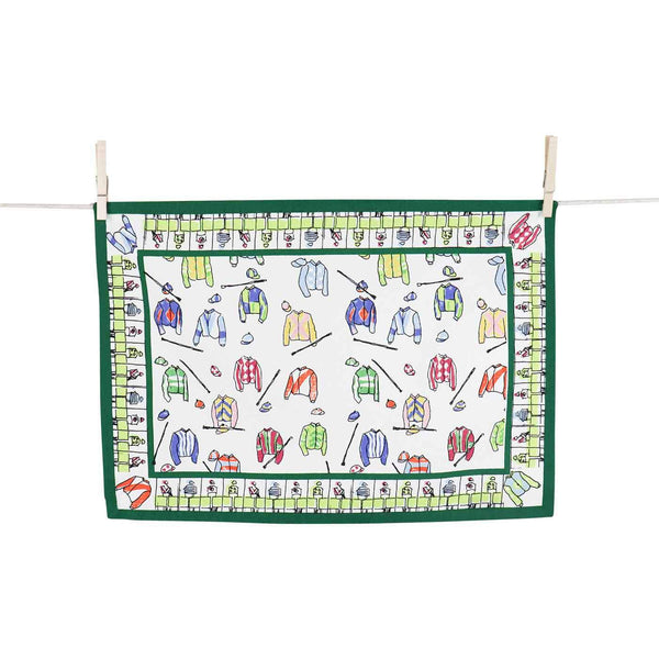 Pomegranate Placemat Set - Jockey Silks