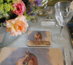 "Munnings ""Study of a Bay Horse 'Master'"" Coaster"