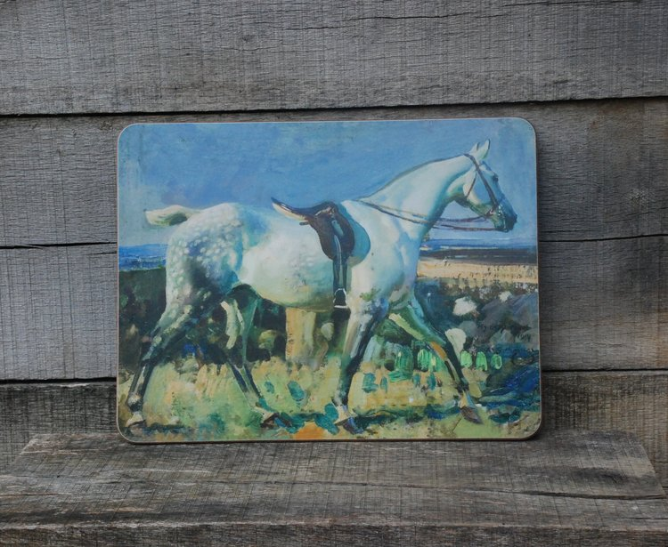 "Munnings ""My Grey Mare"" Serving Mat"