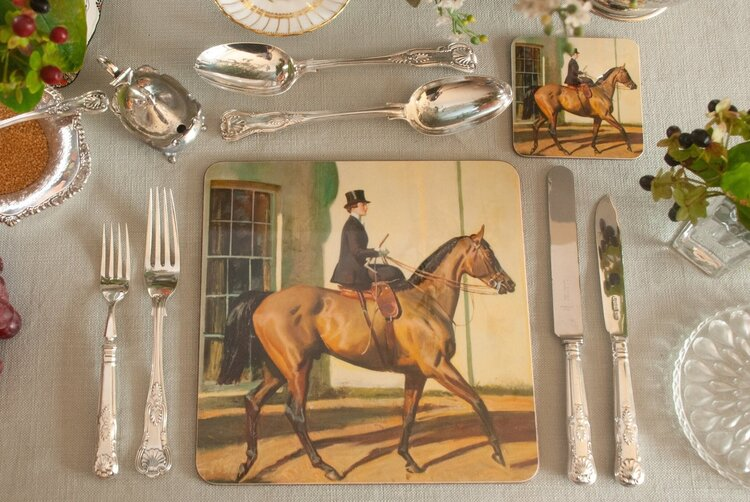 "Munnings ""My Wife, My Horse & Myself"" Placemat"