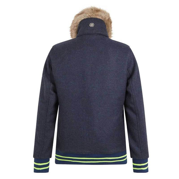 Annabel Brocks Navy Bomber Jacket