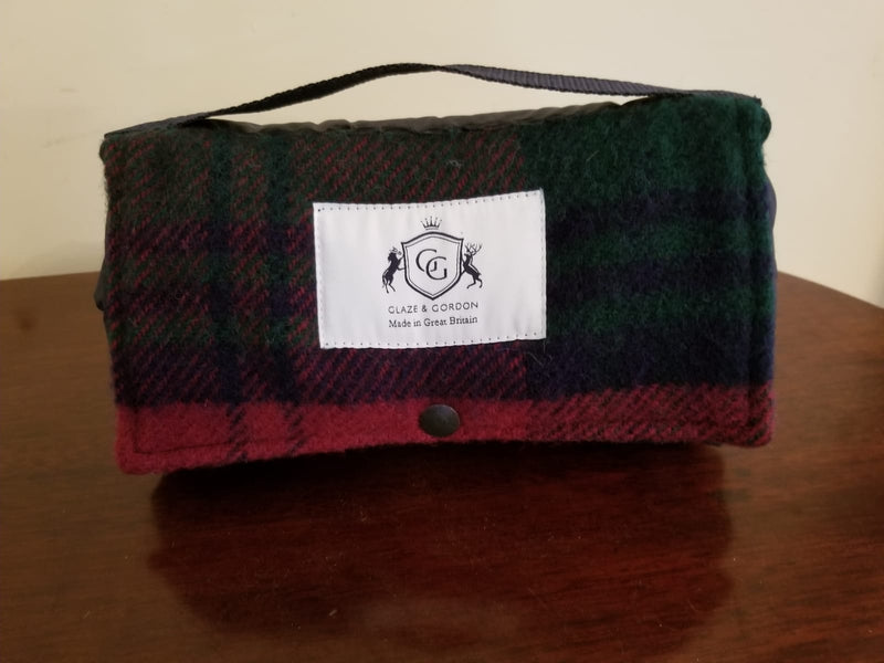 Glaze & Gordon Tartan Pure New Wool Walker Companion