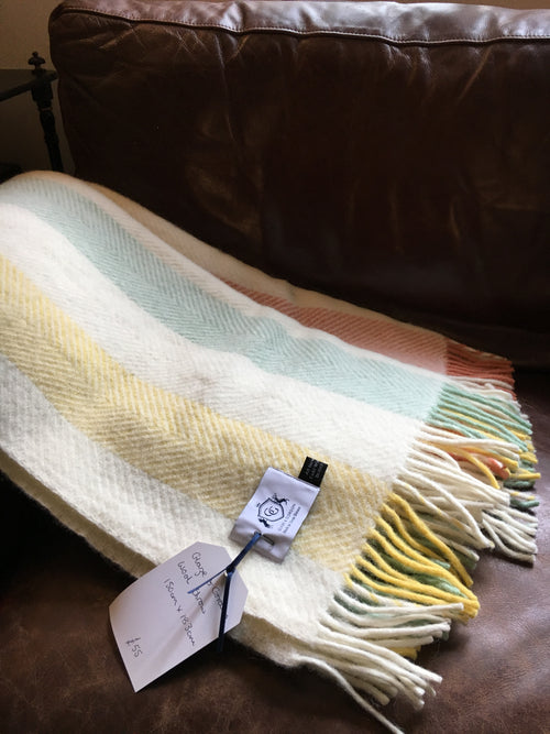 Glaze & Gordon Summer Stripe Throw