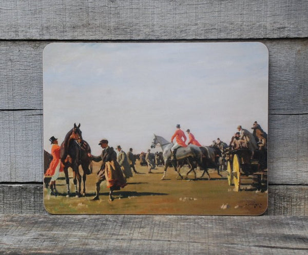 "Munnings ""Point to Point"" Serving Mat"