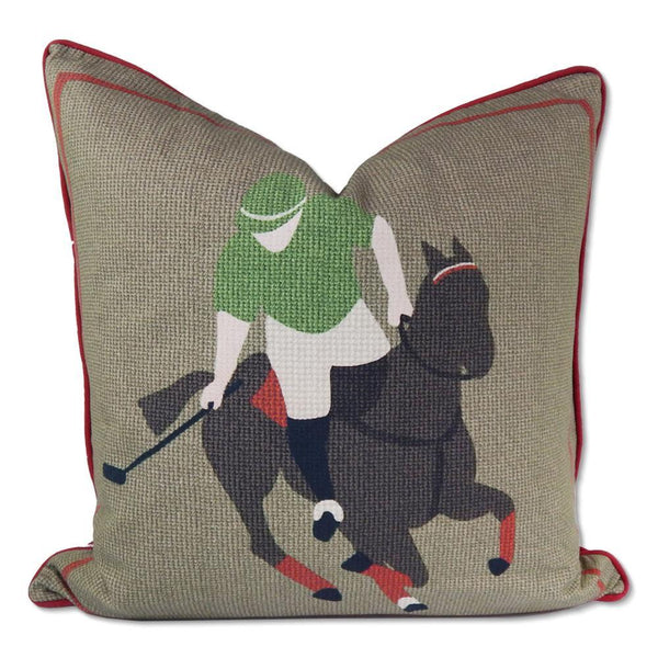 Pomegranate Throw Pillow Cover - Polo