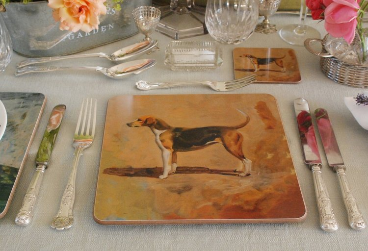 "Munnings ""A Pytchley Foxhound"" Placemat"