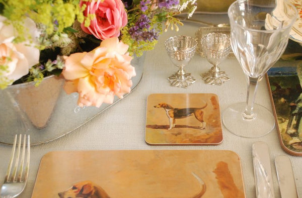 "Munnings ""A Pytchley Foxhound"" Coaster"