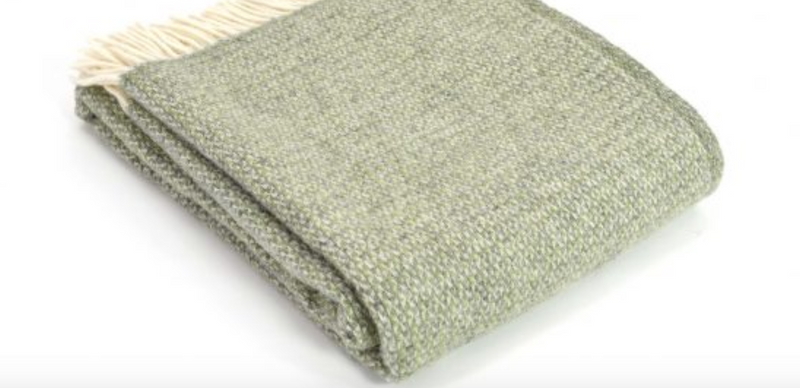 "Glaze & Gordon Wool ""Long Mynd"" Throw"