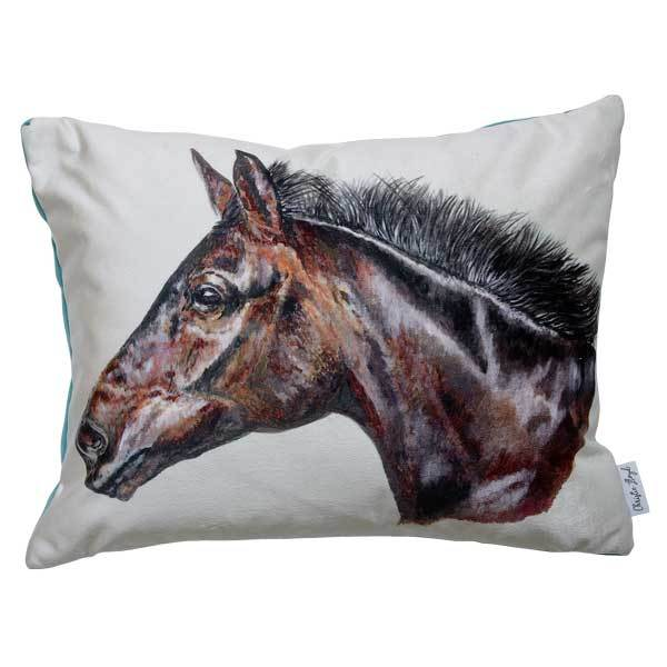Christie Lloyd Smithy Horse Velvet Cushion