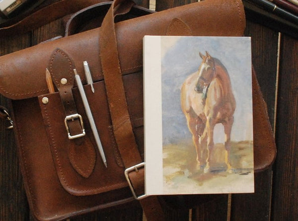 "Munnings ""Study of a Bay Horse"" A5 Notebook"
