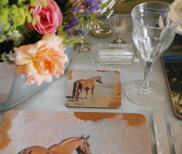 "Munnings ""Study of a Racehorse"" Coaster"