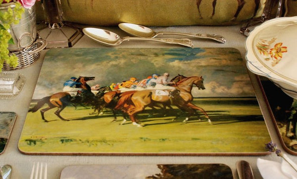 "Munnings ""Under Starters Orders"" Serving Mat"