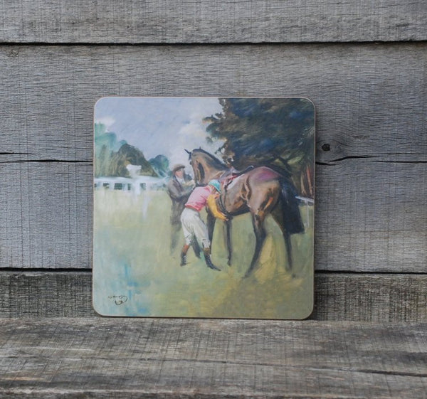 "Munnings ""Unsaddling of a Bay Racehorse"" Placemat"