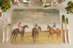 "Munnings ""At the Half Mile, Newmarket"" Serving Mat"
