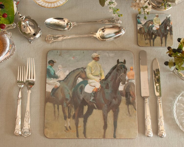 "Munnings ""Before the Race"" Placemat"