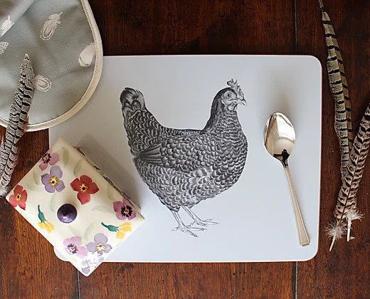 Sophie Botsford Chicken Serving Mat