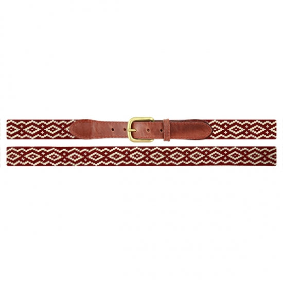 Smathers & Branson Andes Gaucho Needlepoint Belt