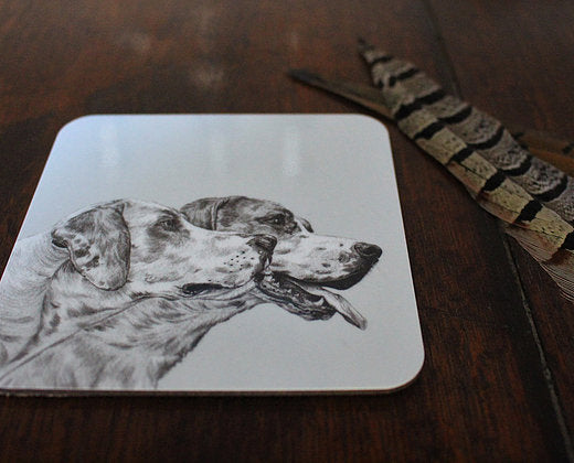 Sophie Botsford Foxhounds Coaster