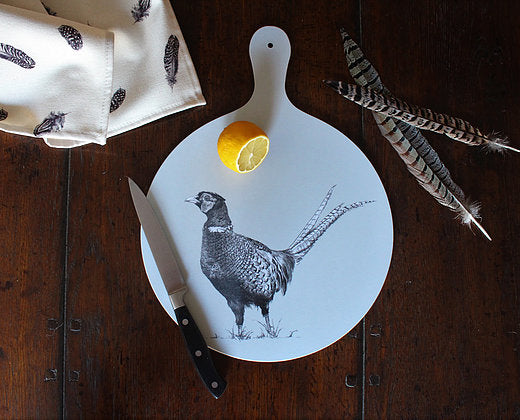 Sophie Botsford Pheasant Chopping Board