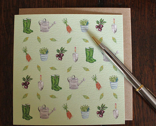 Sophie Botsford Gardening Greetings Card