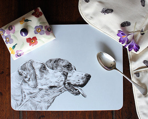Sophie Botsford Foxhounds Serving Mat