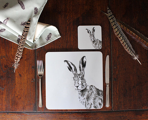 Sophie Botsford Peeping Hare Placemat