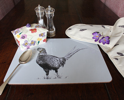 Sophie Botsford Pheasant Serving Mat