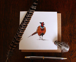 Sophie Botsford Pheasant Greetings Card