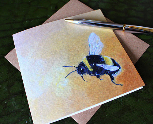 Sophie Botsford Bumblebee Greetings Card