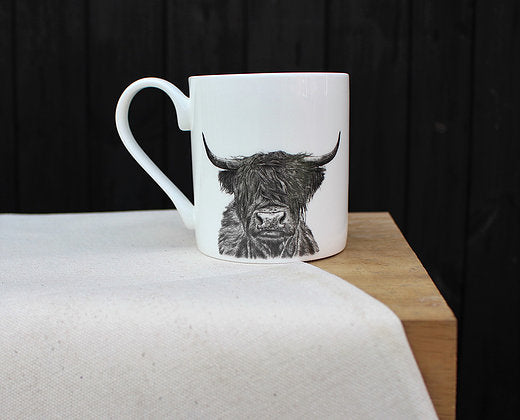 Sophie Botsford Highland Cow Mug