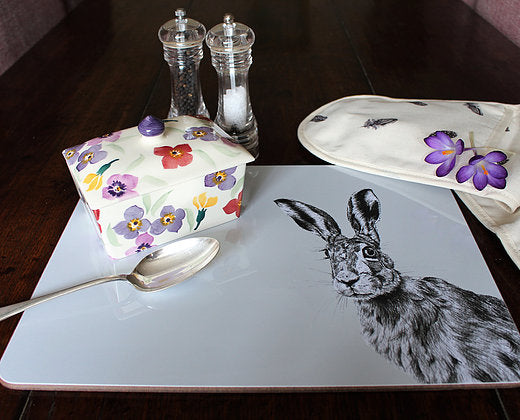 Sophie Botsford Peeping Hare Serving Mat