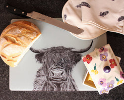 Sophie Botsford Highland Cow Worktop Saver