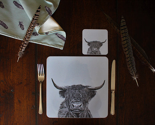 Sophie Botsford Highland Cow Placemat
