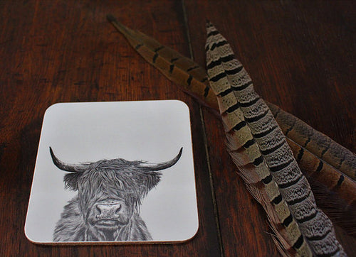 Sophie Botsford Highland Cow Coaster